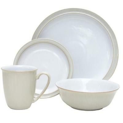 Denby Linen 16 Piece Dinner Set Boxed