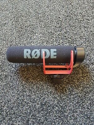 RØDE VideoMic GO On Camera Microphone - Black/Red - NEVER USED