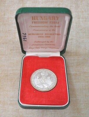 1956-1966 Hungarian Revolution Commemorative Coin - Freedom