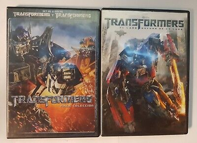 Pelicula Dvd Pack Pack Transformers 1+2+3