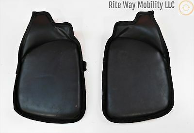 "Gel Foot Plate Pads for Permobil Power Wheelchairs~9 1/2"" x 7 1/2"""