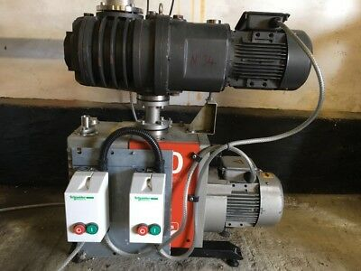 Edwards Vacuum Pump E2M40 / EH250 Mechanical Booster RIG £3,595