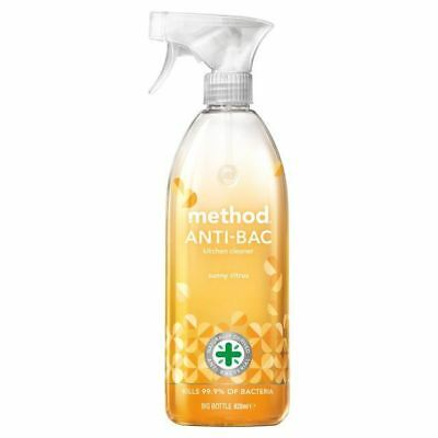 Method Antibacterial Kitchen Cleaner Sunny Citrus 828ml