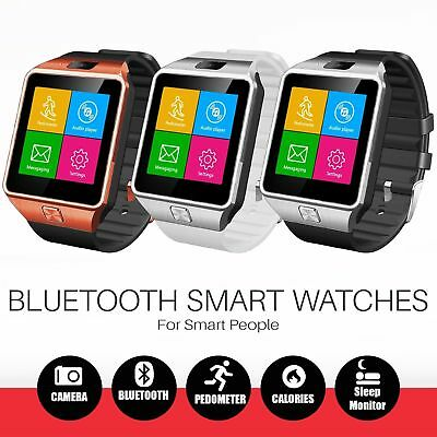 DZ09 Smart Watch Phone & Camera Bluetooth For iOS & Android Compatible GT08 2018