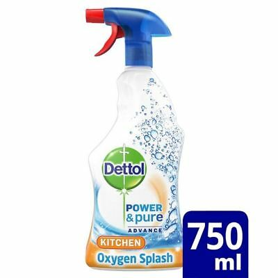 Dettol Power & Pure Kitchen Cleaning Spray 750ml