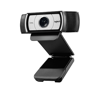 Logitech C930E Hd 1080P Webcam With External Privacy Shutter And Dual Stereo Mic