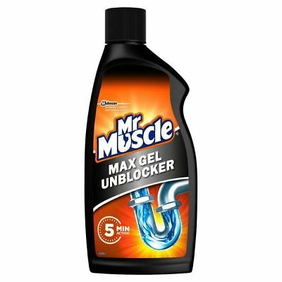 Mr Muscle Drain Power Gel for Full Clogs 500ml