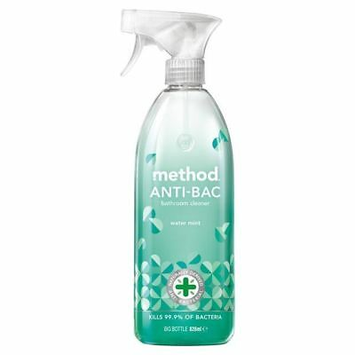 Method Antibacterial Bathroom Cleaner Water Mint 828ml