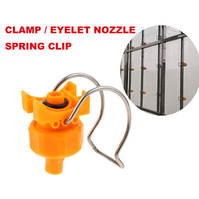 PP Clamp Nozzle Eyelet Nozzles Pre-treatment Washing Quick Installation