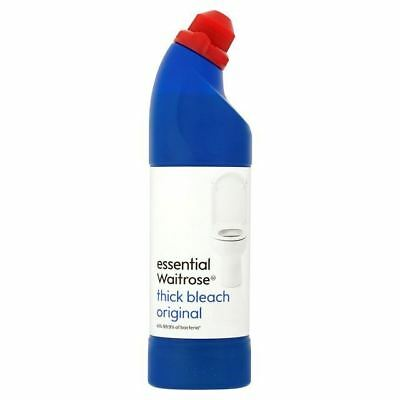 Essential Waitrose Original Thick Bleach 750ml