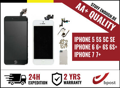 Aa+ Full Assembly Lcd Touch Screen/scherm/ecran Iphone 5 5S 5C 6 6+ 6S 6S+ 7 7+