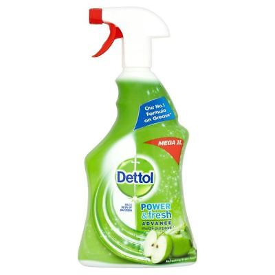 Dettol Power & Fresh Advance Antibacterial Spray Apple 1L