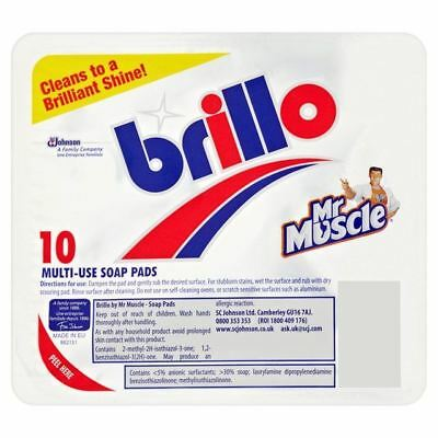 Brillo Soap Pads 10 per pack