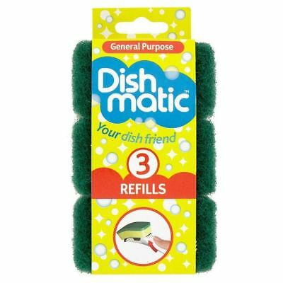Dishmatic General Purpose Refills 3 per pack