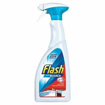 Flash Spray Cleaner with Bleach 500ml