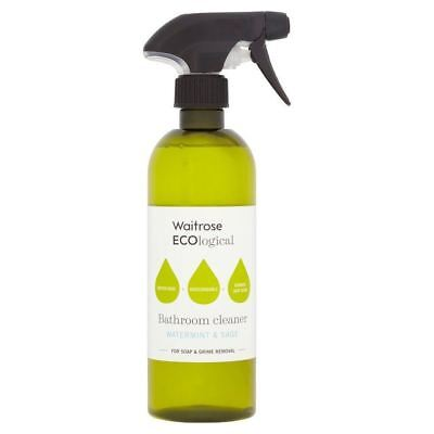 Waitrose ECOlogical Bathroom Spray Cleaner 500ml