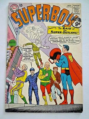 Superboy 114 1964 Phantom Zone DC Comics Silver Age