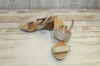 7593de5d5440 JACK ROGERS ARDEN Wedge Sandals - Women s Size 7 M