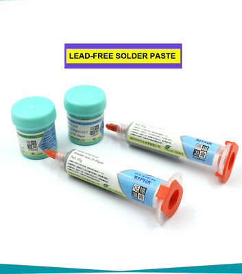 Low Temperature 138℃ Sn42/Bi58 Lead Free Solder Paste 42g Phone PCB BGA Repair