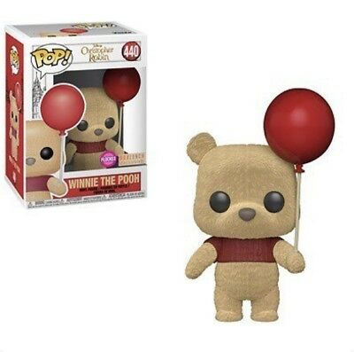 Funko Pop Flocked Winnie The Pooh Christopher Robin Boxlunch Exclusive Preorder