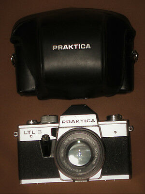 PRAKTICA LTL 3 + Pentacon Auto MC 1:1.8/50mm M42 + Tasche/Case *TOP*