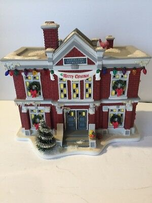 department 56 christmas story village cleveland elementary school 805029