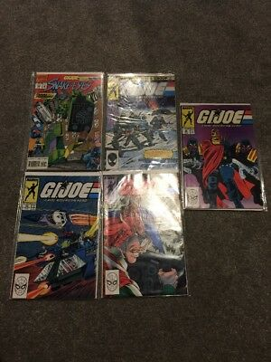 GI Joe comics x 7 - Marvel (1986-1992)