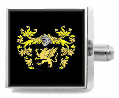BINGHAM ENGLAND FAMILY Crest Surname Coat Of Arms Cufflinks