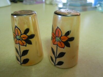 Small Antique  Salt & Pepper Shakers - See Photos For Style And Condition