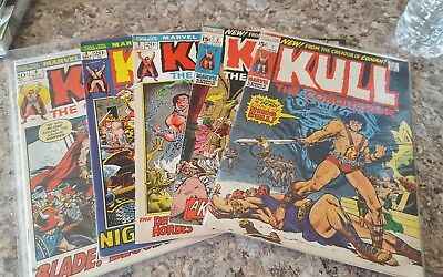 Kull The Conqueror #1-5 1972 Good