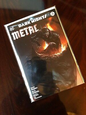 Dark Nights Metal #5 Francesco Mattina Variant. New Unread Nm. Dc