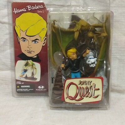 Johnny Quest vs. Pteradactyl Hanna-Barbera Series 2 Diorama from McFarlane Toys!