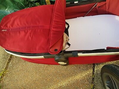 joolz geo upper carrycot lobster red