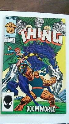 The Thing #12 Rocky Grimm Space Ranger Secret Wars Marvel 1984 fn P&P Discounts