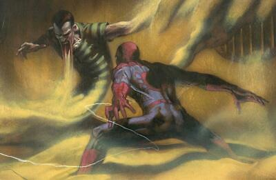 Amazing Spider-Man Virgin Variant Issue #2 W/coa Gabriele Dell'otto Cover