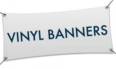"2'x 4' Custom Vinyl Banner (SHIPS ROLLED,NOT FOLDED), 13oz FULL COLOR (24""x48"")"