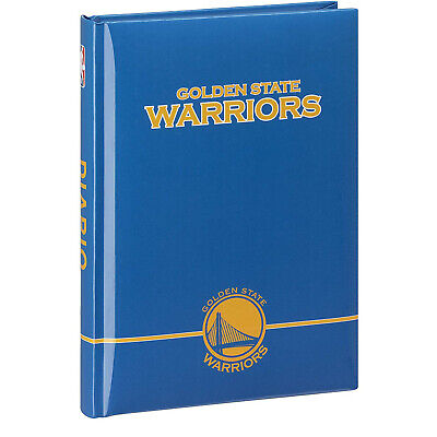 BASKET Diario escuela WARRIORS GOLDEN STATE no de fecha cuadrados 17,4X12,5cm