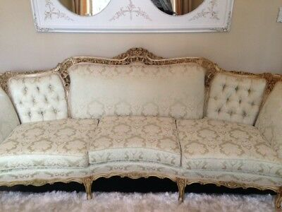 Antique French Carved Sofa