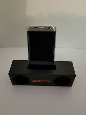NEW Jagermeister Universal Cell Phone Music Sound Amplifier Stand Holder RT14