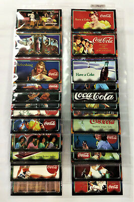 Coca Cola Sign Of Good Taste 72 Card Set in UV Protective Sheets - NEW from 1996