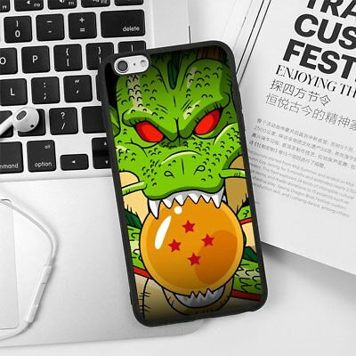 Silicone Case Cover for iPhone6 7 8 Plus X Super Dragon Ball Four Shenron Goku