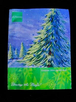 Vtg JCPenney Penneys 2004 Christmas Big Gift Book~Department Store Catalog