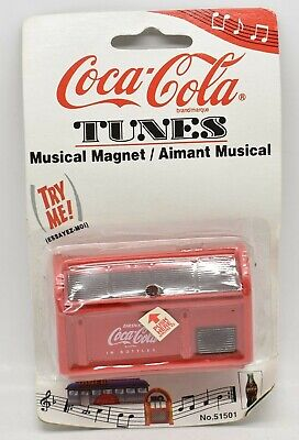 Coca-Cola Tunes Musical Magnet 1997 Brand NEW Sealed