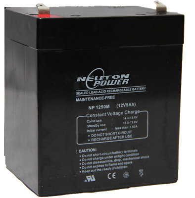 Neuton Power NP1250 12V 5ah/ 4.5ah VRLA Rechargeable Battery (Vision CP1245)
