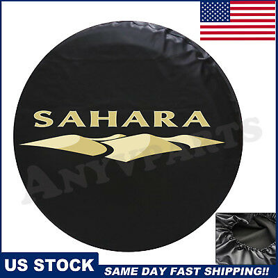 OEM For 2007-2018 Jeep Wrangler Sahara Spare Tire Cover NEW Leather/82212321