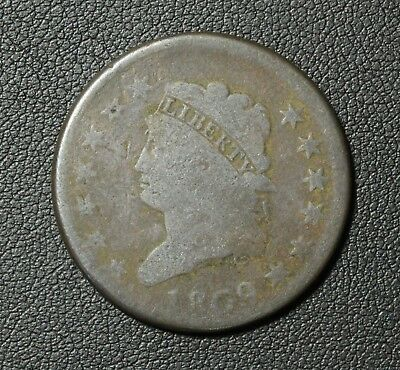 1809 Classic Head Copper Large Cent