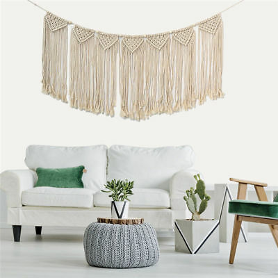 NEW Macrame Wall Hanging Tapestry Room Home Door Window Curtain Wedding Backdrop