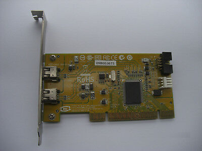 HP Dual Port IEEE1394 FireWire PCI 400 Mbps Controller 441448-001