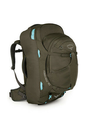 Osprey Fairview 70 Womens Travel Pack Misty Grey [Size: S/M] Womens Backpack