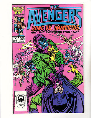 The Avengers #269 (1986, Marvel) VF+ Kang vs Immortus! John Buscema